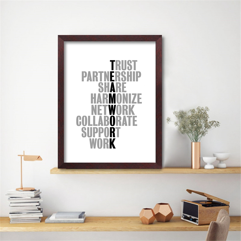 Together Favourite Place Inspirational Quote Poster Art Print A3 A4 Decor Wall
