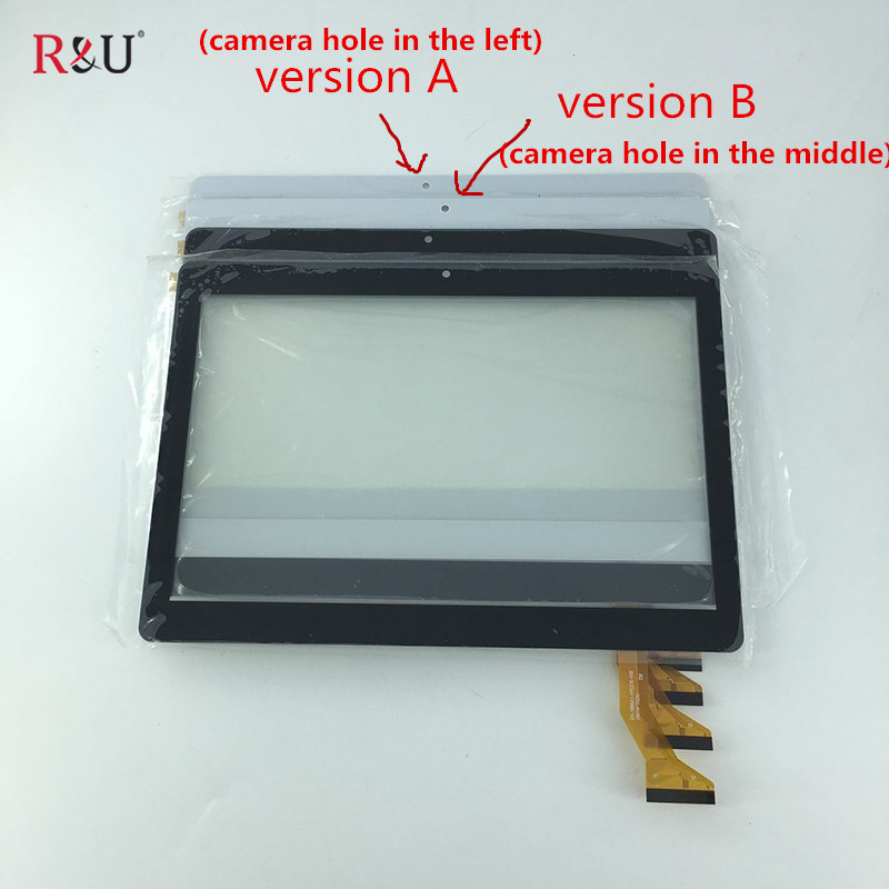 New 10.1 inch front Touch screen panel digitizer outer glass sensor replacement parts for BDF Tab CH-1096A1-FPC276-V02 black new for wj975 957 fpc v2 0 10 1 inch touch screen panel digitizer sensor repair replacement parts free shipping