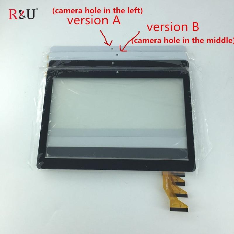 Nouveau 10.1 pouce avant écran Tactile panneau numériseur verre externe capteur pièces de rechange pour BDF Tab CH-1096A1-FPC276-V02