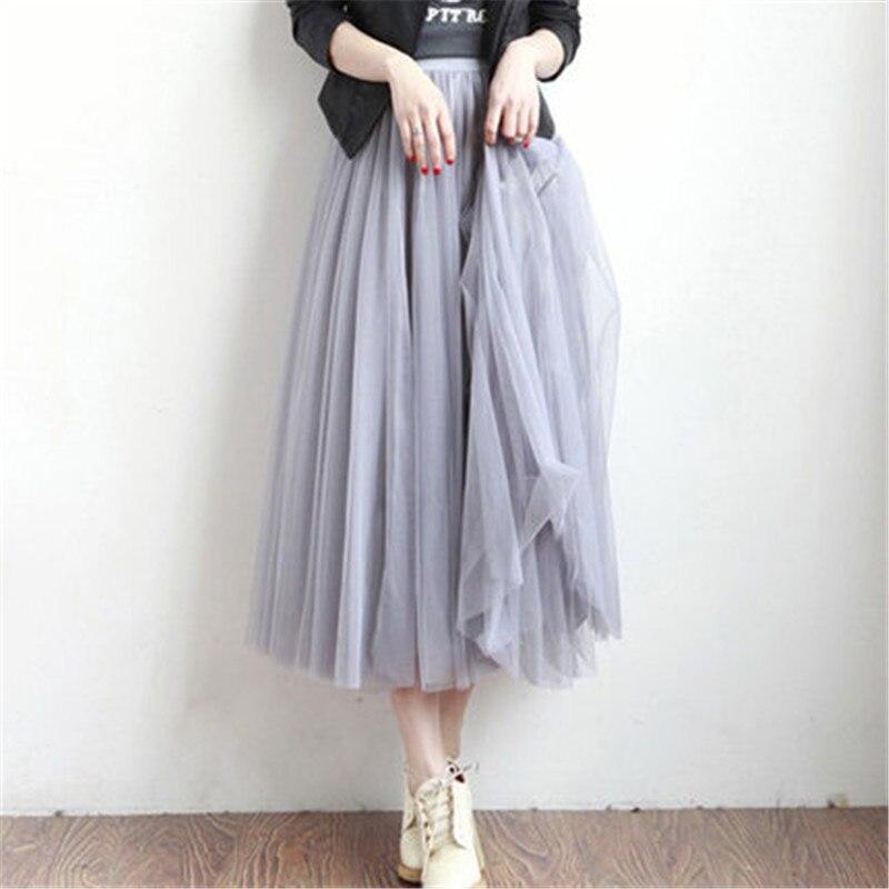 tulle skirts womens black gray white tulle skirt