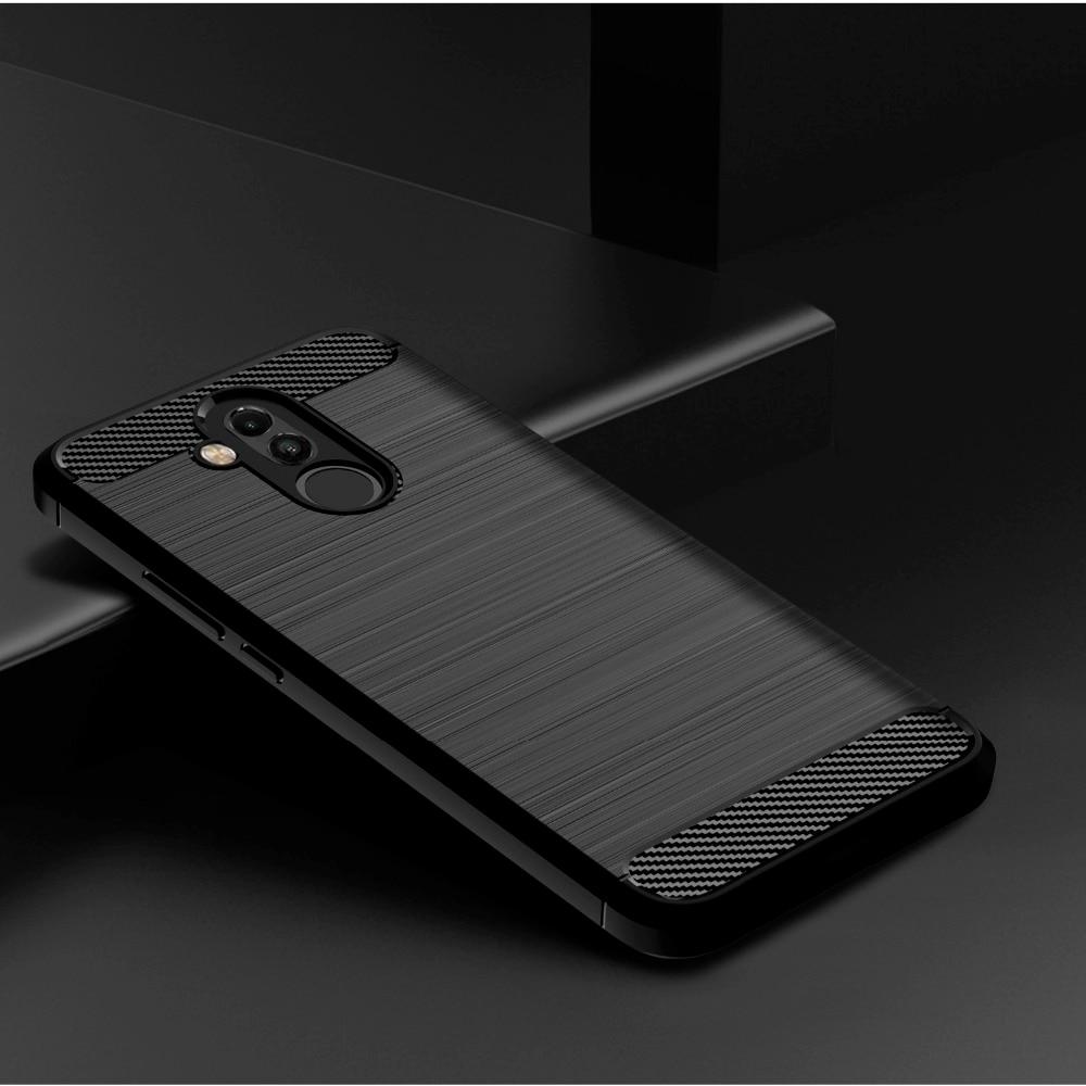 Чехол с матовой текстурой для Huawei Nova 4E 4 3E 3i 3 2S 2i 2 Lite Plus Smart Young Nova4 Nova4E Nova3, чехол для телефона из углеродного волокна|Специальные чехлы|   | АлиЭкспресс