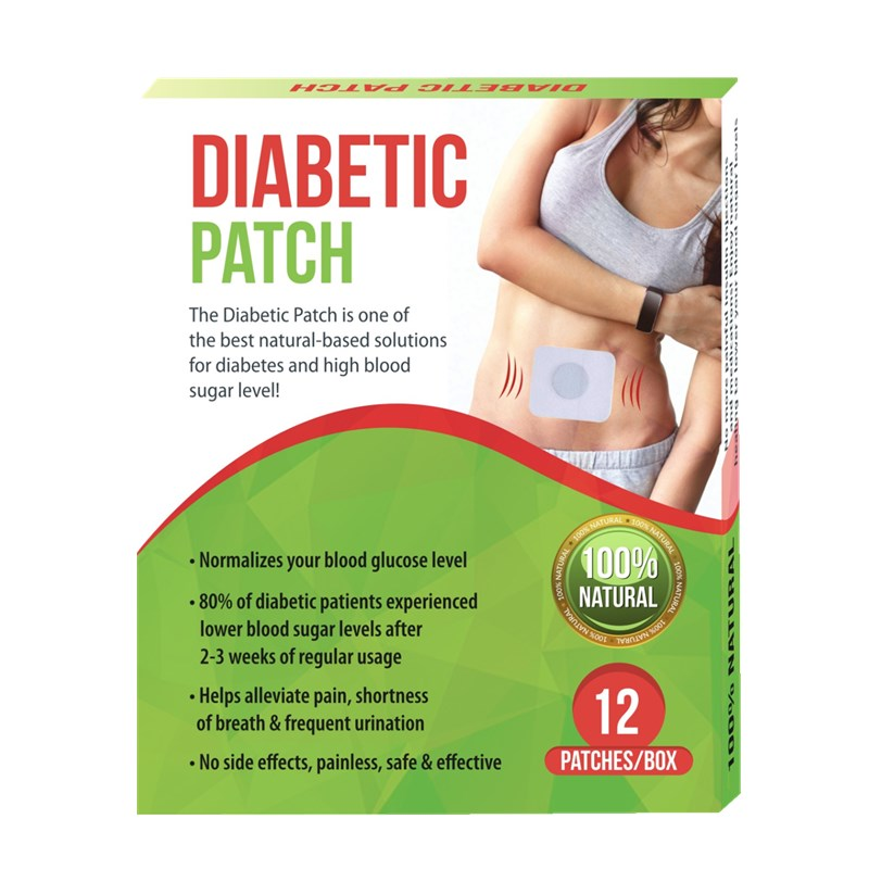 12 pieces/ box Hot Selling Diabetic Patch Patches Insulin Plaster