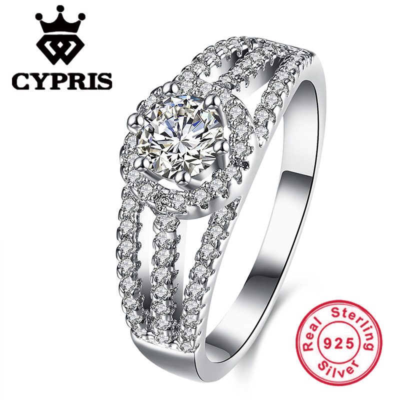 No Fake 925 pure sterling silver fine solid finger ring women lady elegant  classic exquisite simulatedOnline Get Cheap Fake Diamond Ring  Aliexpress com   Alibaba Group. Fake Diamond Wedding Rings. Home Design Ideas