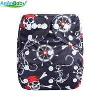 Ananbaby Umwelt Freundliche Windeln Waschbar Einstellbare Tuch Windel Anzug Für jungen