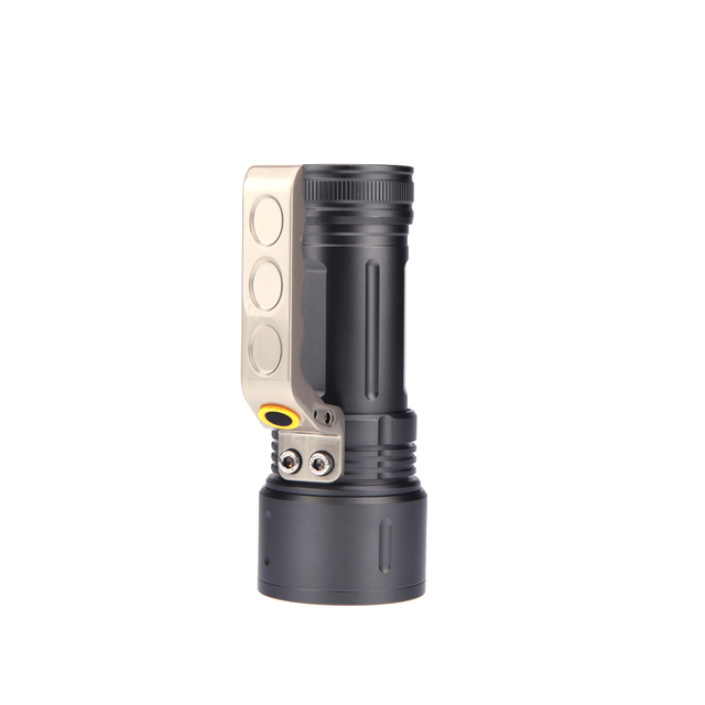 SOS XM-L T6 LED Flashlight Torch Emergency Lights Miner's Lamp 2200LM 4-Mode Zoom In/Out For Caving Camping Fishing Hiking