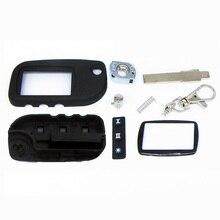 Nuevo caso para Starline A9 A8 A6 hoja sin cortar caso de la cubierta fob FOB switchblade clave de alarma + A9 A9 A6 A8 Vidrio envío gratis