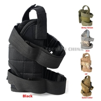 One Size Fits All Hand Gun Holster Military Tactical Hunting Gun Thigh Leg Holster Pouch For