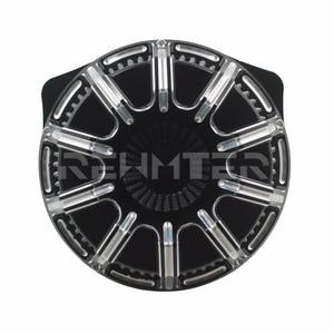 Image 3 - Filtro de ar Mais Limpo CNC Artesanato Invertido Grande Otário Para Harley Sportster 883 1200 Softail Dyna Touring Road King