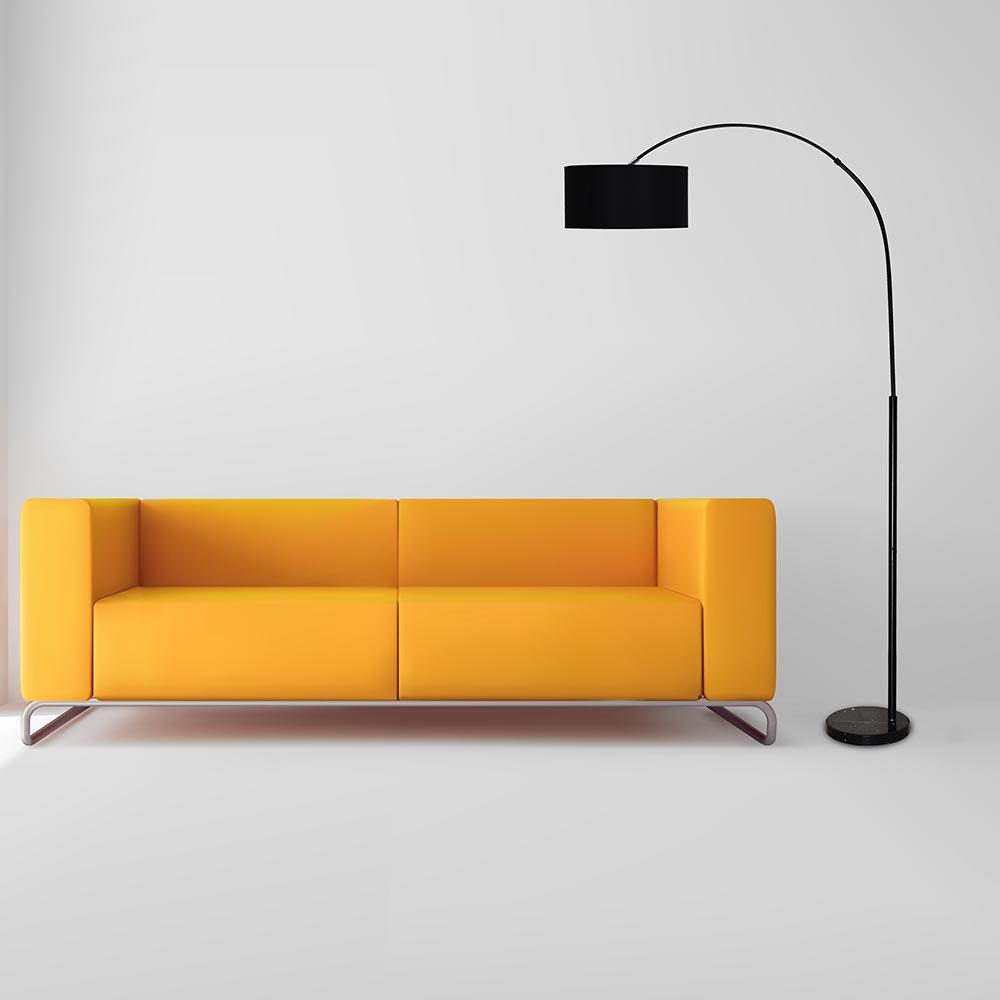 Creative Foot Switch Fishing Floor Lamps Modern Lighting Marble Atmosphere Lights Living Room Study Home Decorative Floor Lamp