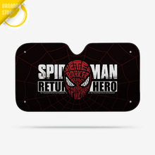 Spider Man Avenger Marvel Car Windshield Sunshade Windscreen Cover Solar Protection Auto Zonnescherm Parasole Parasol Coche
