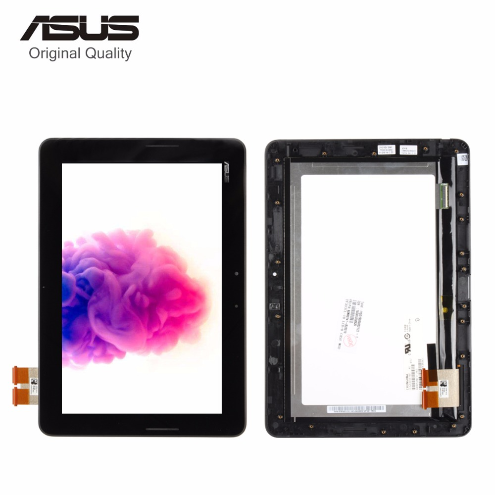 цена Srjtek For Asus Transformer Pad TF303 TF303K TF303CL CLAA101FP05 LCD Display Matrix Touch Screen Digitizer Assembly with Frame