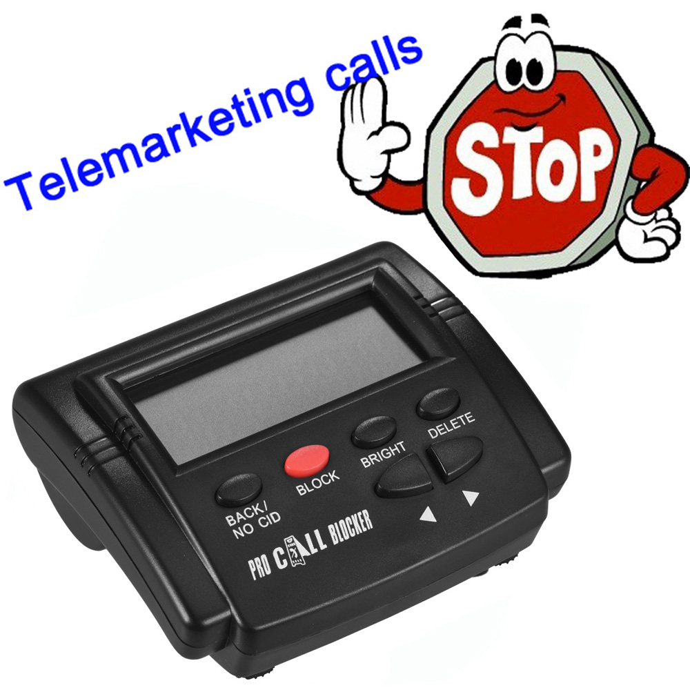 Top SaleφCalls-Devices Telephone Landline Call Blocker Stop for Ct-Cid803-Caller Id-Box NuisanceΣ