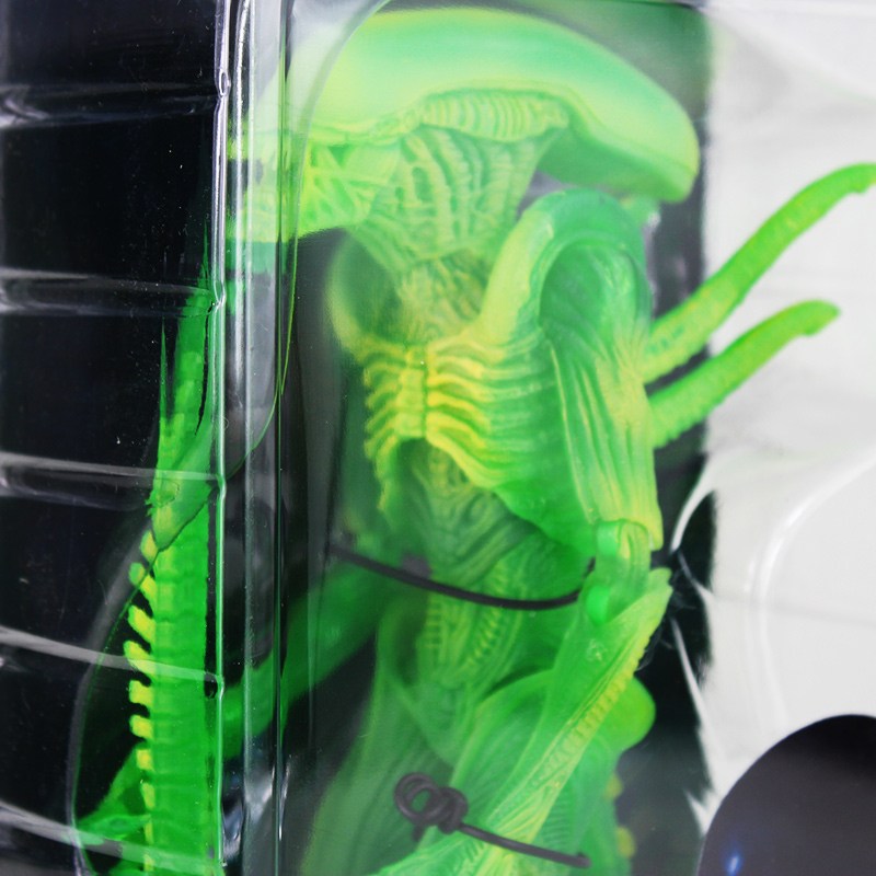 Hot Sale 20cm NECA Alien VS Predator Thermal Vision Warrior Alien PVC Action Figure Collectible Model Toys server power supply for dell poweredge c1100 dps 650sb 8m1hj 650w fully tested