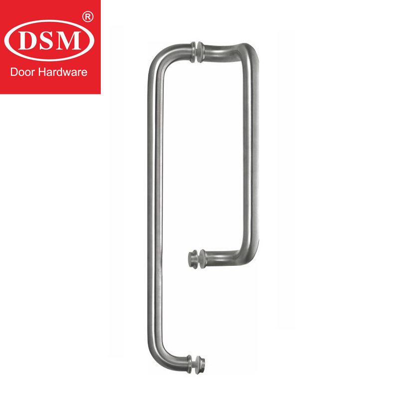 304 Grade Stainless Steel Pull Handle Entrance Door Handles Available For All Kinds of Doors PA-623-25*300*500mm shower door handle 304 grade stainless steel pull handles for bathroom glass doors pa 646 25 10 460mm