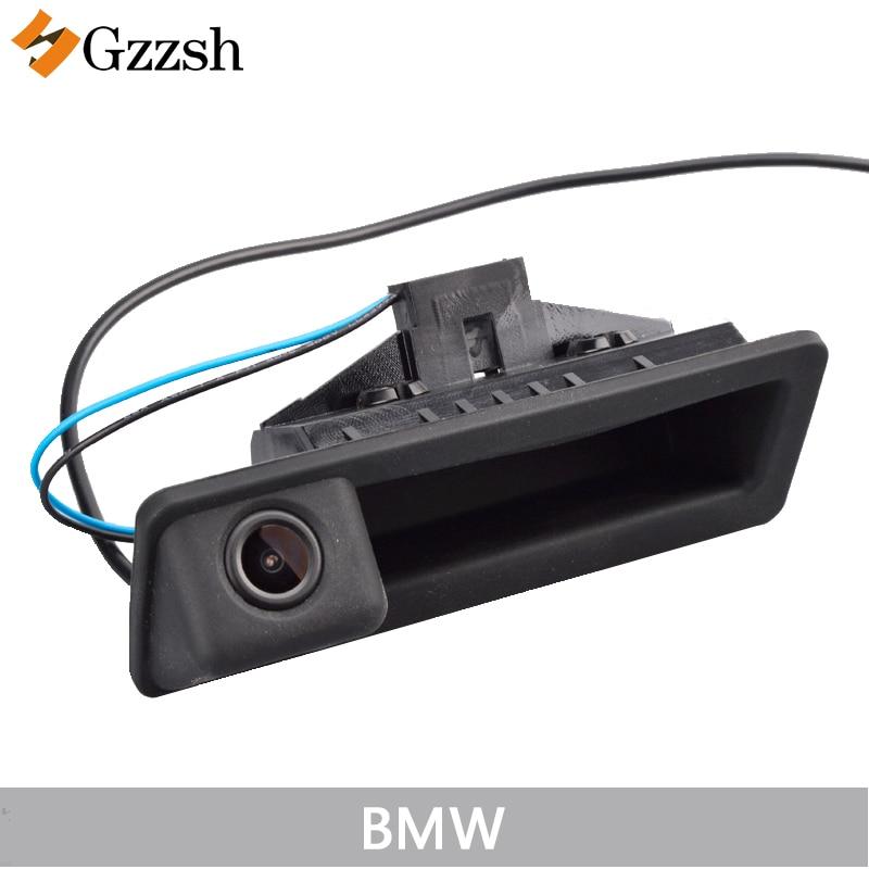 LS8003Car հետևի տեսախցիկ BMW X5 X1 X6 E39 E46 E53 E82 E88 E84 E90 E91 E92 E93 E60 E61 E70 E71 E72 փոխարինող բեռնախցիկի բռնակով