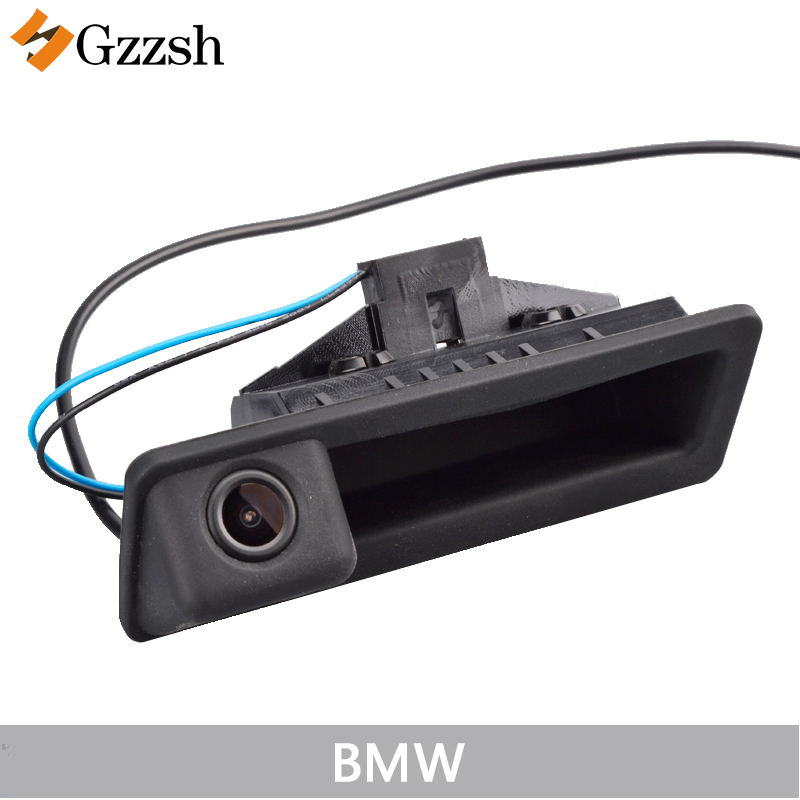 LS8003Auto achteruitrijcamera voor BMW X5 X1 X6 E39 E46 E53 E82 E88 E84 E90 E91 E92 E93 E60 E61 E70 E71 E72 vervangende kofferbakhandgreep