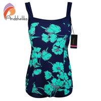 Layered One Pieces SwimSuits Plus Size Swimwear Bathing Suit Swimsuit Monokini Women Push Up Backless Padded