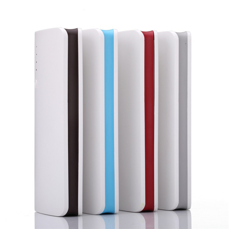 20000mah Power Bank 3 USB Port LED Portable External Mobile Battery YELLYOUTH Powerbanks for Iphone 7