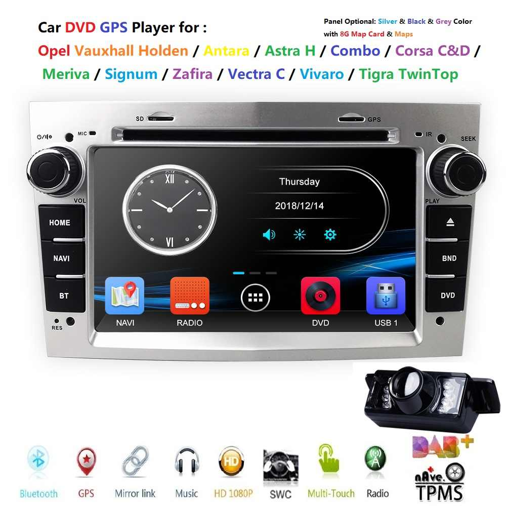 2 Din Radio Car DVD Multimedia Player Fit Opel Vectra Corsa D Astra