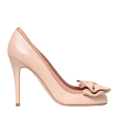ФОТО Fashion Closed Round Toe Soft Leather Women Shoes Bowknot Pumps Custom Made Colors Thin High Heels Lady Pink Wedding Shoes
