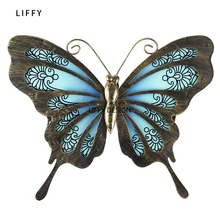 Get more info on the Liffy Butterfly Wall Art Garden Outdoor Christmas Decorations for Garden Home Statues Miniatures Decoration Outdoor Sculptures