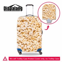 Dispalang Design Your Own Popcorn Pattern On Luggage Cover Name Brand Trolley Suitcase Cover Newest Travel