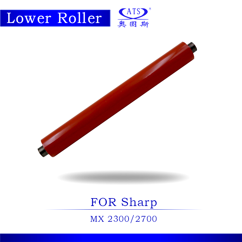 1PCS Photocopy Machine Lower Pressure Fuser Roller For Sharp MX 2300 2700 Copier Parts MX2300