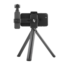 DJI OSMO POCKET Handheld Gimbal Stabilizer Tripod Mobile Phone Clip Extend Holder Mount Bracket for DJI OSMO POCKET Gimbal extension stand mount holder 4th axis gimbal stabilizer for dji ronin s dji osmo plus osmo mobile pro