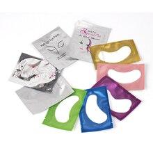 20 Pairs Paper Patches Eyelash Under Eye Pads Lash Eyelash E