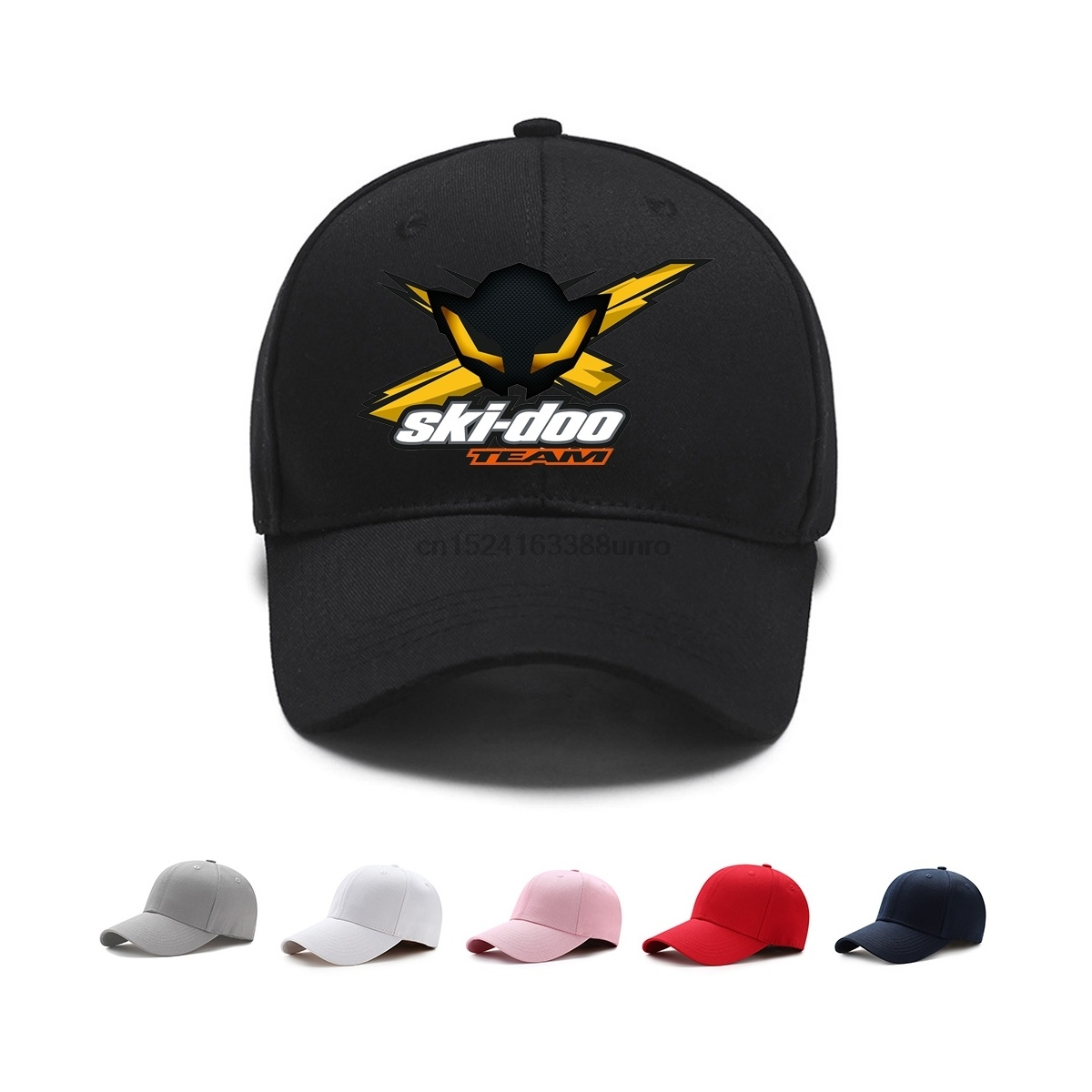 Classic Motoshop Ski-doo X-team Bee Baseball Cap Snapback Hat For Women Caps Summer Sun Snapback Hat Caps Sport Cap Casual Man To Be Highly Praised And Appreciated By The Consuming Public Men's Hats Apparel Accessories