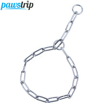 3 Size Carbon Steel Dog Collar Chain Adjustable Training Pet Pinch Dog Collar S/M/L(China)
