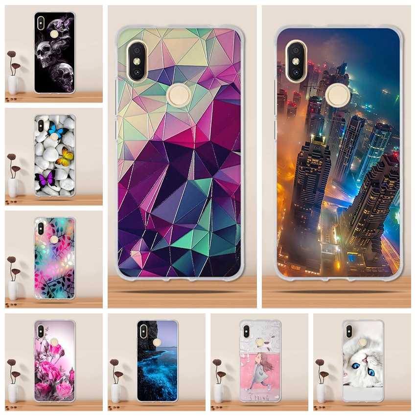 Para Xiaomi Redmi S2 Funda de silicona suave TPU Funda para Xiaomi Redmi S2 cubierta Capa 3D Coque Funda de teléfono para xiaomi Redmi Y2 caso