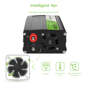 Image 4 - Onever 2000W Car Inverter AC 12V To 220V Car Voltage Power Converter with Circuit Protection for DVD players Car Vacuum Cleaner
