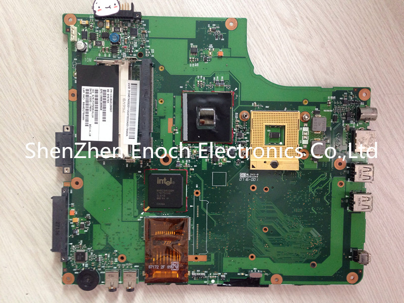 V000108060 For Toshiba satellite A200 A205 integrated 943GM laptop motherboard,100%Tested 6050A2120801-MB-A02 stock No.888