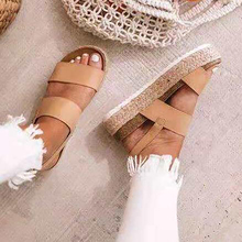 women sandals Summer new fish mouth shoes for female high heels thick bottom large size leopard buckle with sandalias mujer sandals female summer with wild shoes 2017 new korean version of the slope with high heels thick bottom fish mouth word buckle s