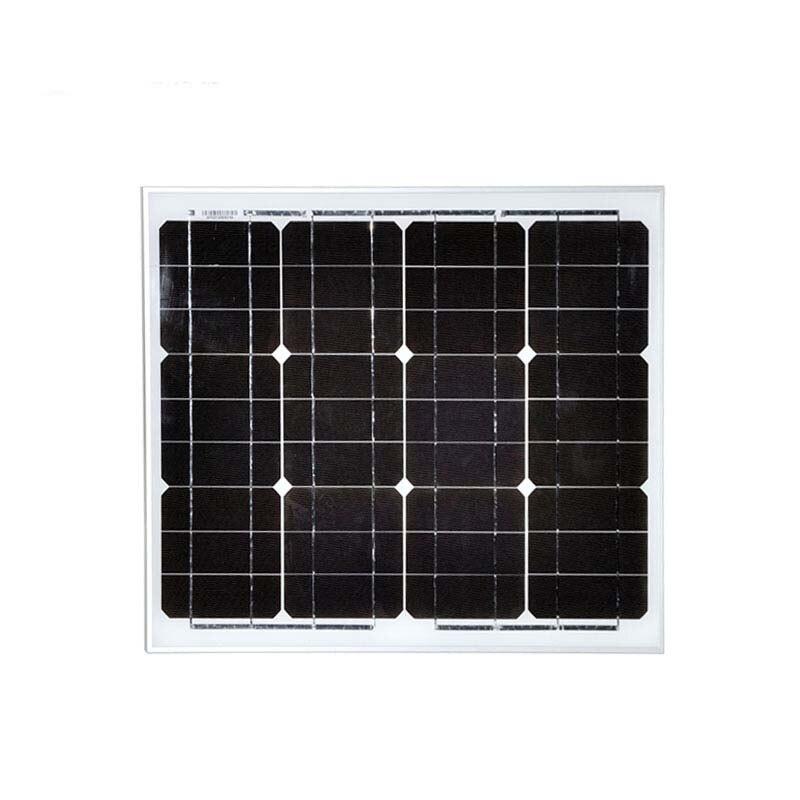 Portable Kit Solar Panel 12v 30w Solar LCD Controller 12v 24v 10A Cargador Solar Solar Light Caravan Camping Car Motorhome in Solar Cells from Consumer Electronics