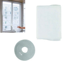 New velcro curtains White Insect Fly Mosquito Window Net Netting Mesh Screen New Curtains Sep14