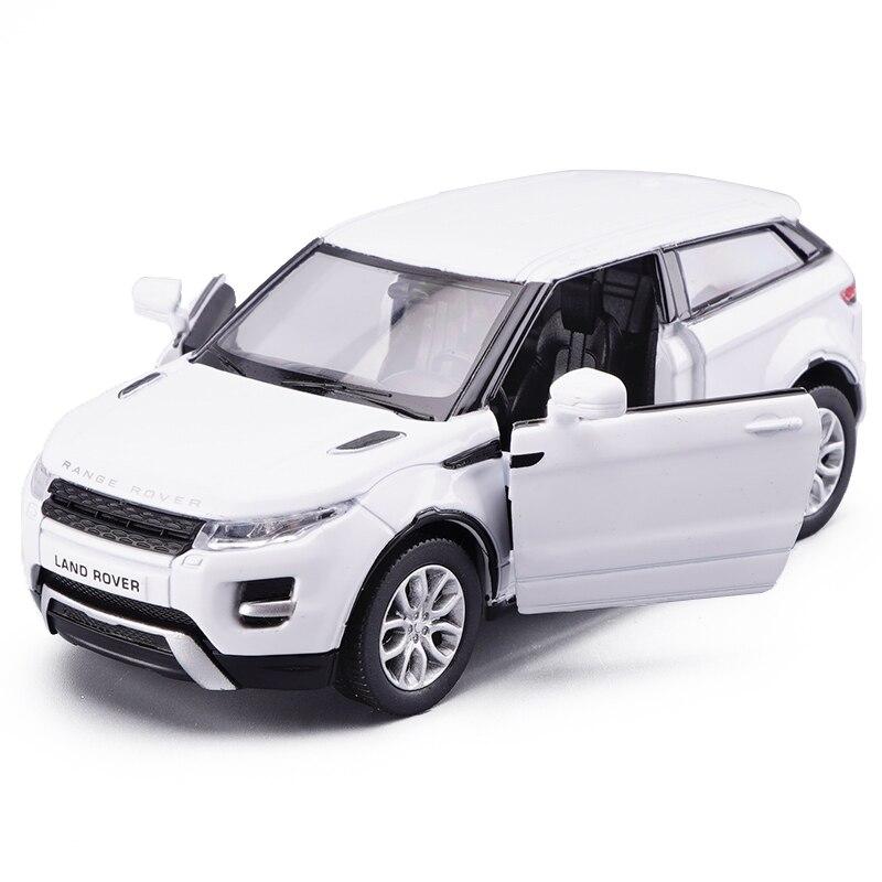 1/36 игрушки литой транспортных средств металлического сплава моделей автомобилей для Range Rover Evoque внедорожник модели автомобилей игрушечных ...