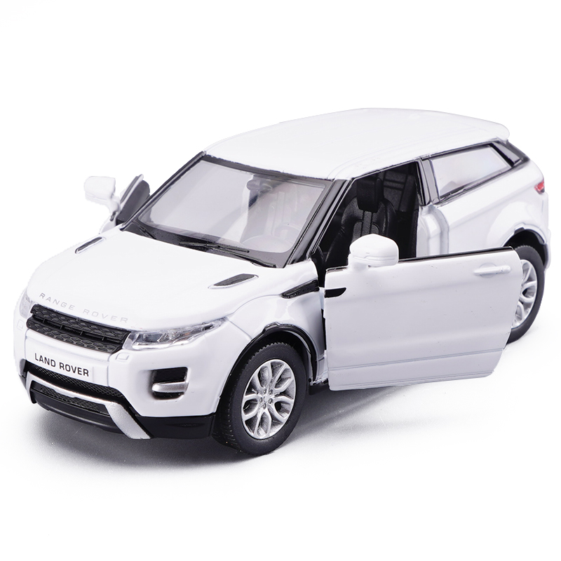 1/36 Toy Diecast Vehicles Metal Alloy Car Models For Range Rover Evoque SUV Model Cars Collectible Car Model Vehicles For Boys 1 43 peugeot 208 gti mini alloy model diecast cars toy vehicles limited edition craft messenger car