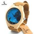2017 bobo bird top para hombre marca de relojes de relojes de madera reloj hombre reloj de pulsera reloj de cuarzo de madera-reloj relogio masculino