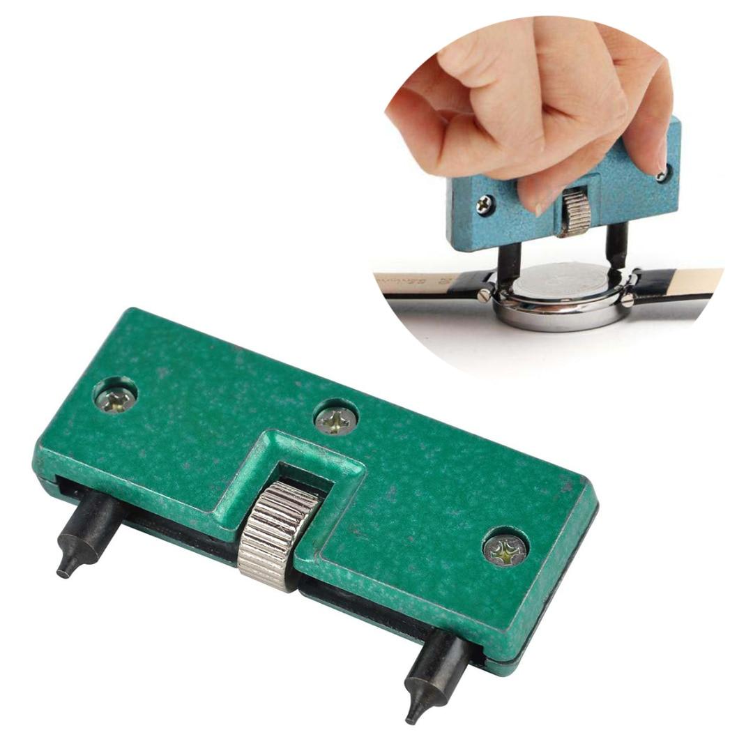 1 Stück Grün Uhr Zurück Öffner Verstellbare Öffnung Schrauben-schlüssel Reparatur Remover Kit Für Uhrmacher Shellhard Geschickte Herstellung