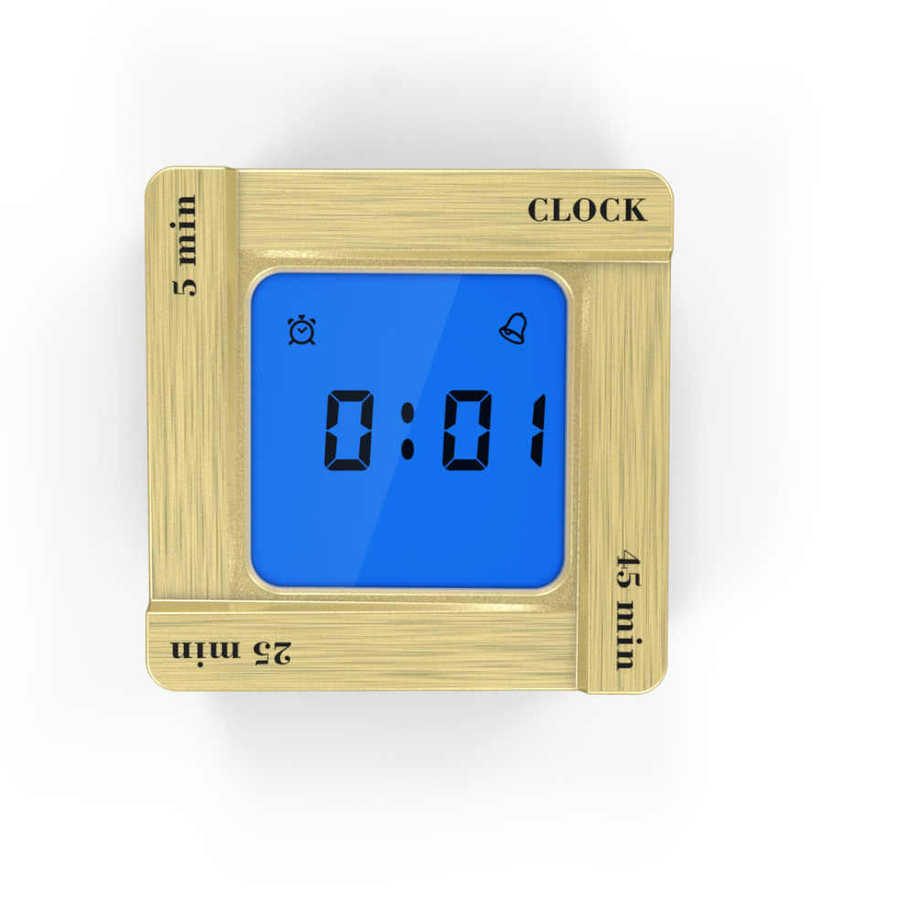 Thời trang Khoa Học Thời Gian Mini đồng hồ kỹ thuật số Đèn Nền LED Hiển Thị Bảng Đồng Hồ Báo Thức Snooze larm clock Trang Trí Nội Thất z0325 # G20