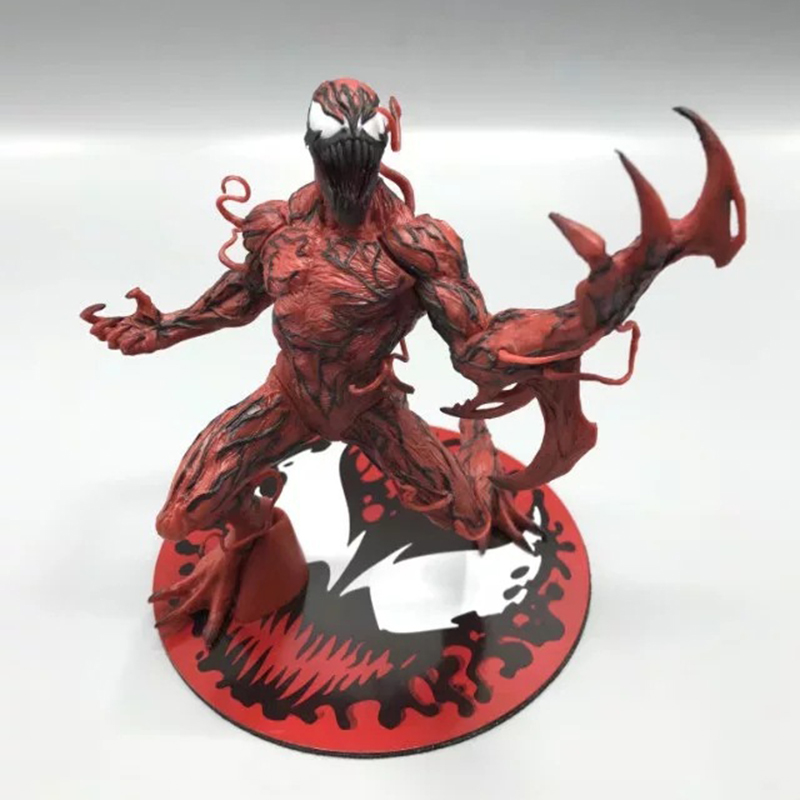 Action & Toy Figures Candid The Amazing Spider-man Carnage Action Figure 1/8 Scale Painted Figure Cletus Kasady Carnage Doll Pvc Figure Toy Brinquedos Anime Packing Of Nominated Brand