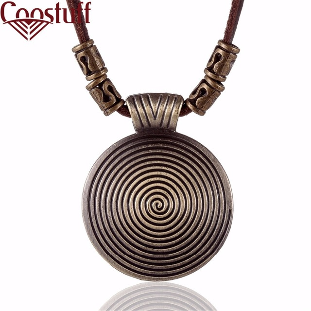 2017 Chokers Vintage Women Jewelry choker necklace colar Long Genuine Leather statement necklace Woman collier kolye collares