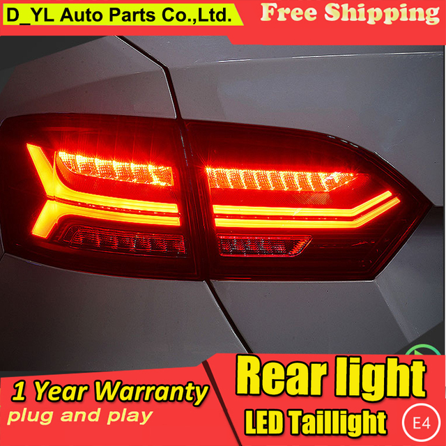 D Yl Car Styling For Vw Jetta Taillights 2017 Led Tail Lamp Rear