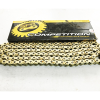 Knight GN250 GN 250 Chain HIGH PERFORMANCE GOLD O RING 520HV CHAIN MOTORCYCLE RACING PARTS FOR SUZUKI GN250