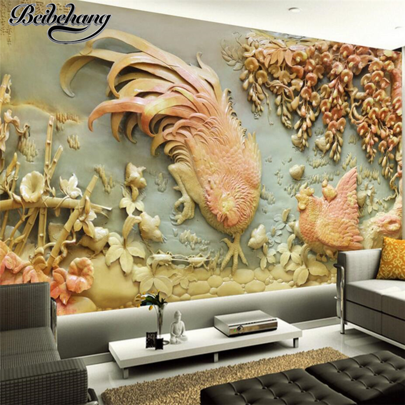 Beibehang Large Wallpaper Mural Custom Any Size Three: Beibehang Custom Photo Wallpapers 3d Exquisite Three