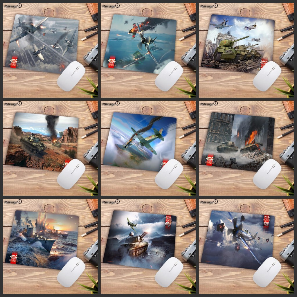 Mairuige Big Promotion War Thunder And World Of Tanks Laptop Gaming Mice Mousepad Size For 180*220*2MM Speed Version Mousepads