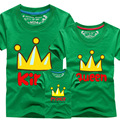 Family Print t Shirts 12 Colors Family Matching Clothes Mother And Daughter Clothes vetement garcon AF1559-1