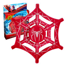 Hot Selling EDC Toys Spider Man Triangular Hand Spinner Spider web Style Fidget  Spinner ADHD Tri Spinner Toy CE Certification 2017 new tri spinner fidget toys edc hand spinner metal fidget spinner for adhd adults children relax time long funny toys
